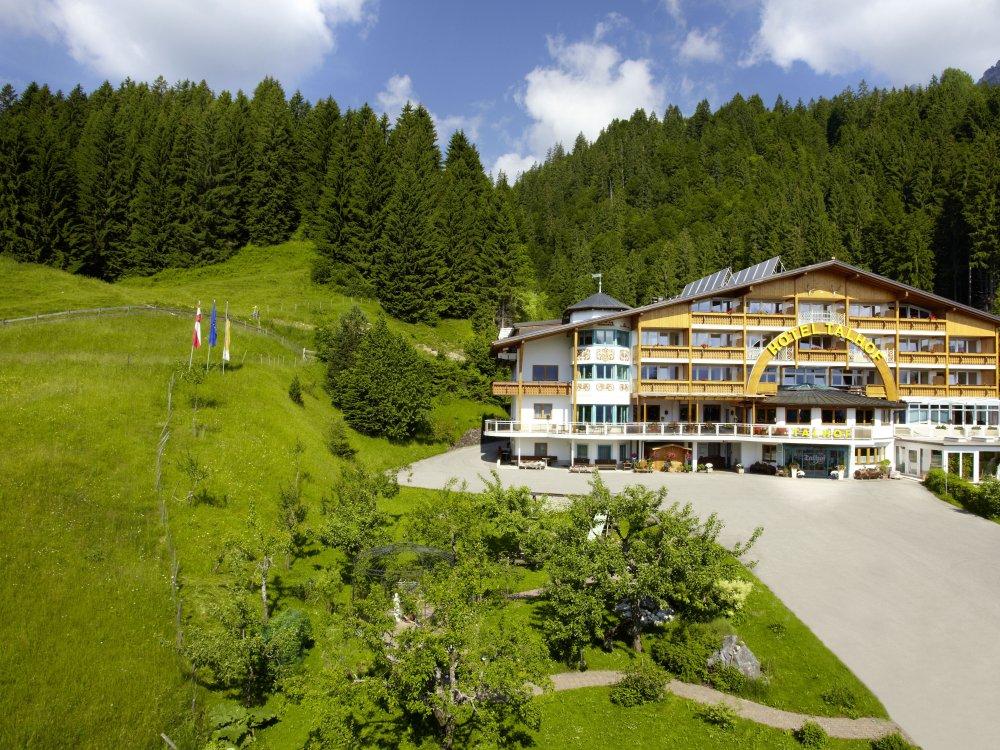 Hotel Talhof in Tirol Außenansicht