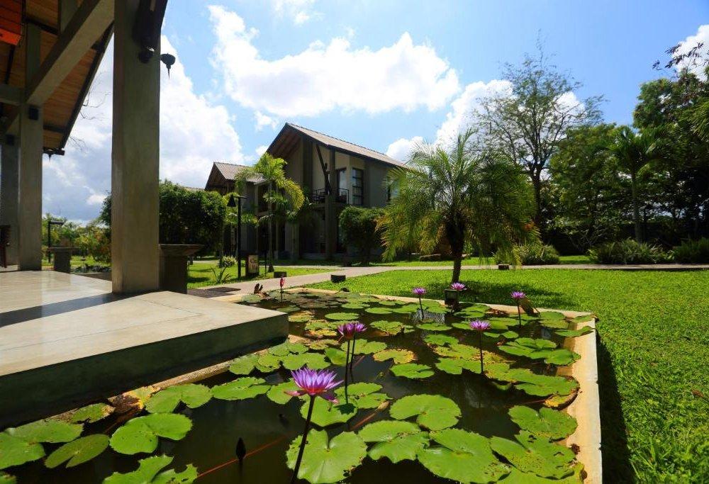 Chandrika Hotel - Außenanlage