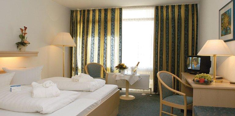 Hotel Kurhotel Panland Bad Füssing Zimmerbeispiel