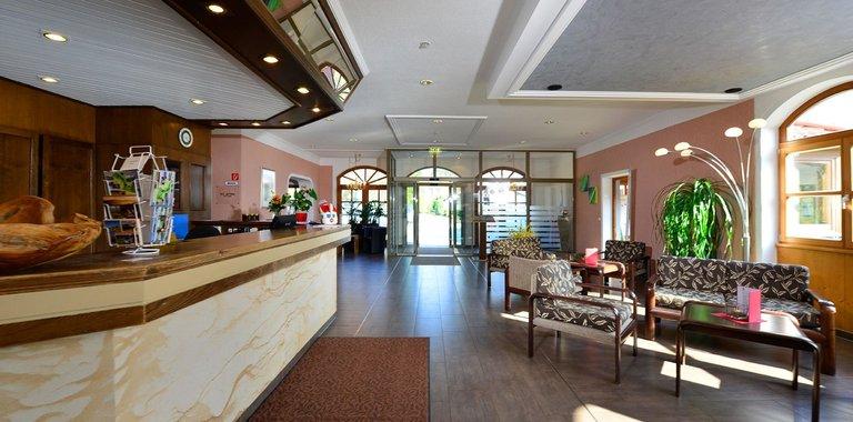 Michel & Friends Hotel Waldkirchen Rezeption