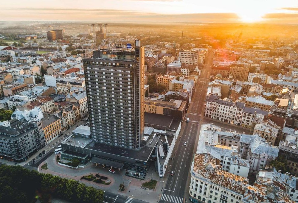 Hotel Radisson Blu Latvia - Außenansicht