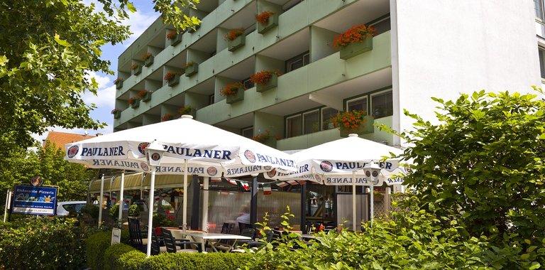 Zentral-Hotel Bad Füssing Terrasse