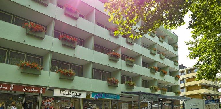 Zentral-Hotel Bad Füssing Außenansicht