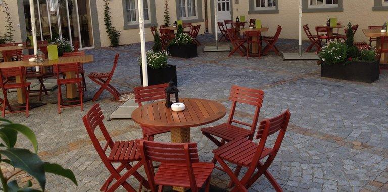Terrrasse JUFA Hotel Meersburg