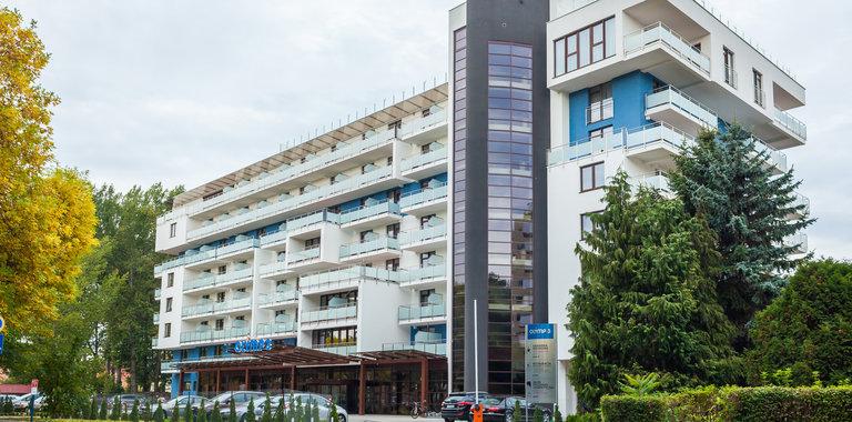 Hotel Olymp III Außenansicht