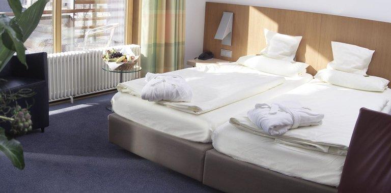 aqualux Wellnesshotel Bad Salzschlirf Zimmerbeispiel