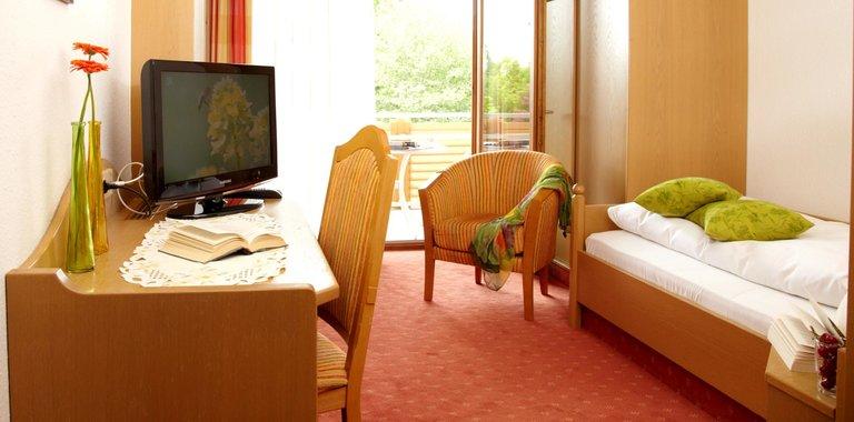 Kurhotel Garni Bad Füssing Zimmerbeispiel