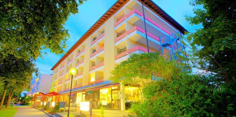 Hotel Kurhotel Panland Bad Füssing Außenansicht