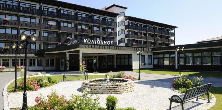 Johannesbad Hotel Königshof Außenansicht