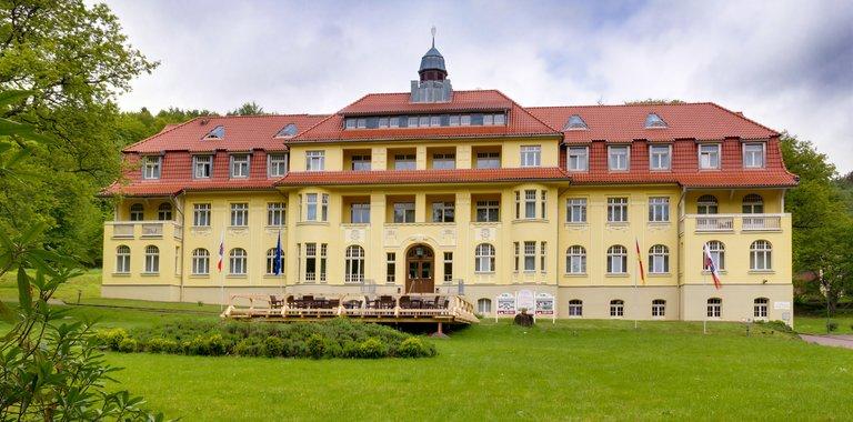 Ferien Hotel Villa Südharz Außenansicht