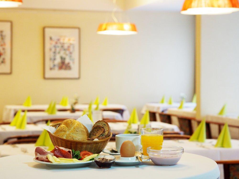 Frühstück im Kurhotel Panland