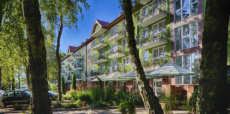 Hotel Maximus SPA Außenansicht