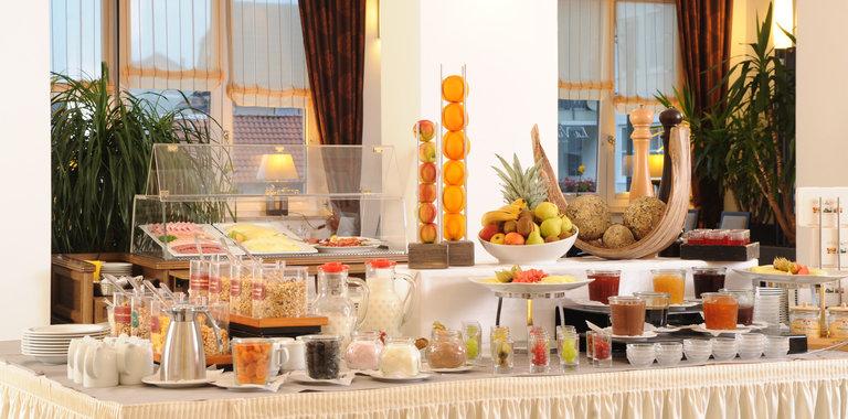 Göbel's Vital Hotel Frühstücksbuffett