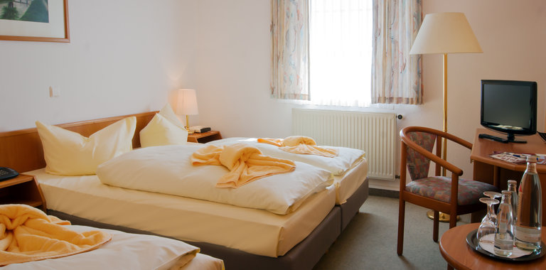 Ferien Hotel Spreewald Zimmerbeispiel