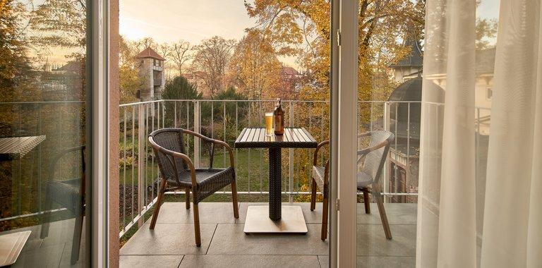 Göbel´s Brauhaus zum Löwen Balkon