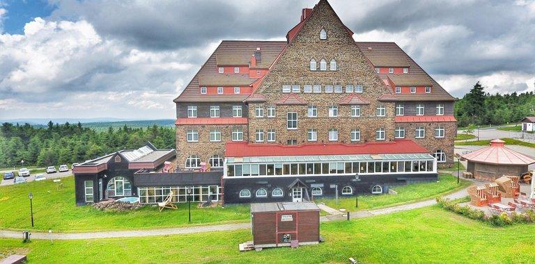 Außenansicht Relaxhotel Sachsenbaude
