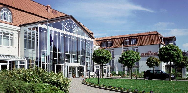 Seehotel Großherzog von Mecklenburg Außenansicht