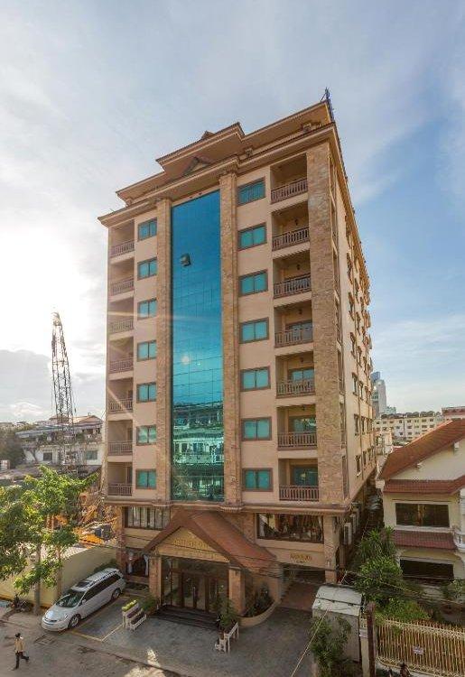 Cardamom Hotel & Apartment - Außenansicht