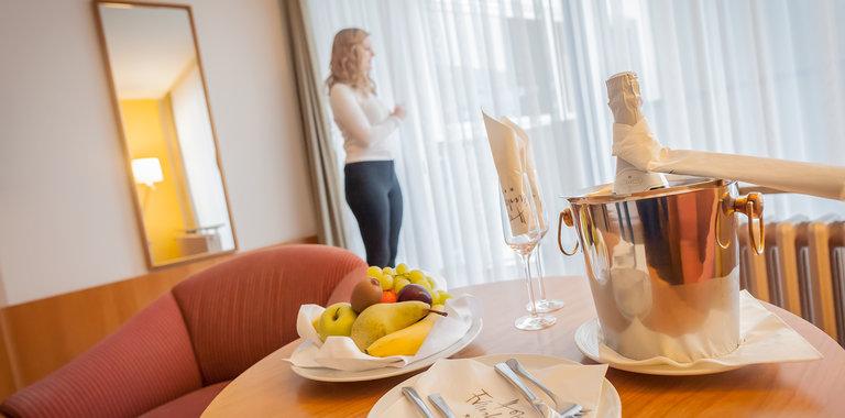 Hotel Frankenland Bad Kissingen Zimmerbeispiel