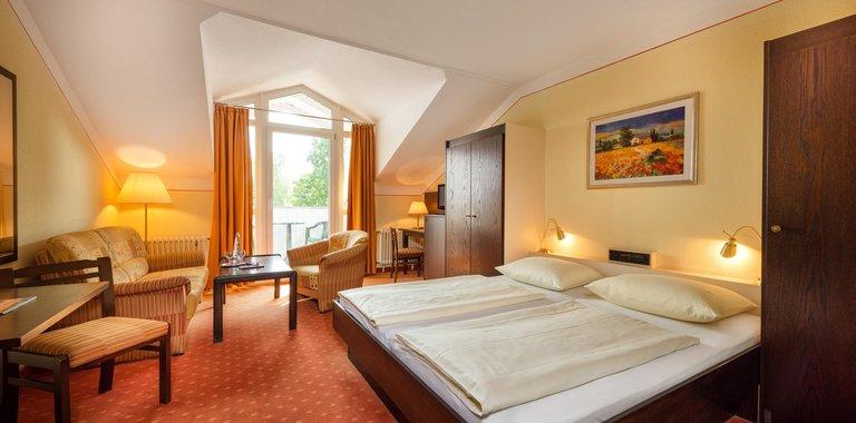 Roulette-Hotels Bad Füssing Zimmerbeispiel