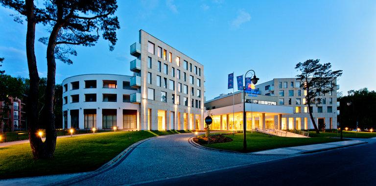 Hotel Interferie Medical SPA Außenansicht
