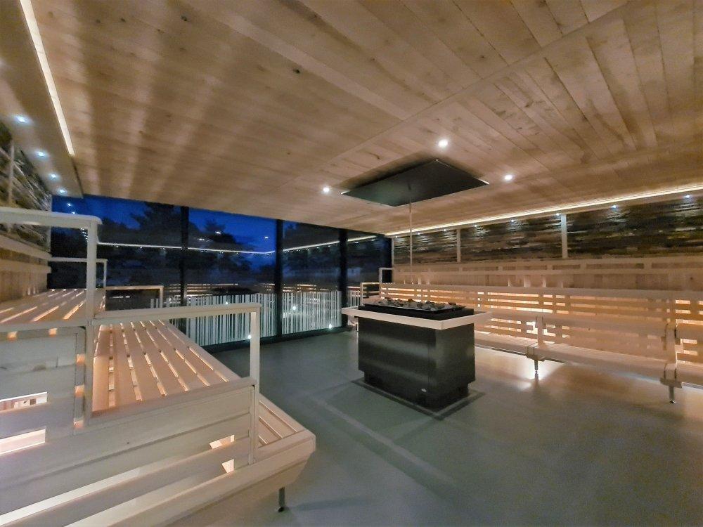 Santé Royale Rügen Resort, Sauna