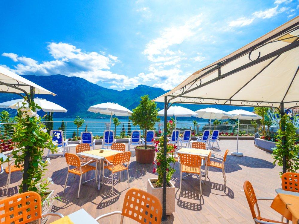 Garda Suite Hotel - Terrasse