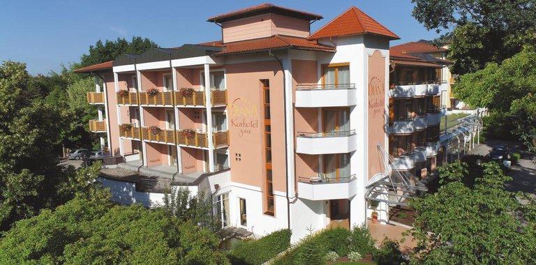 Kurhotel Garni Bad Füssing Außenansicht