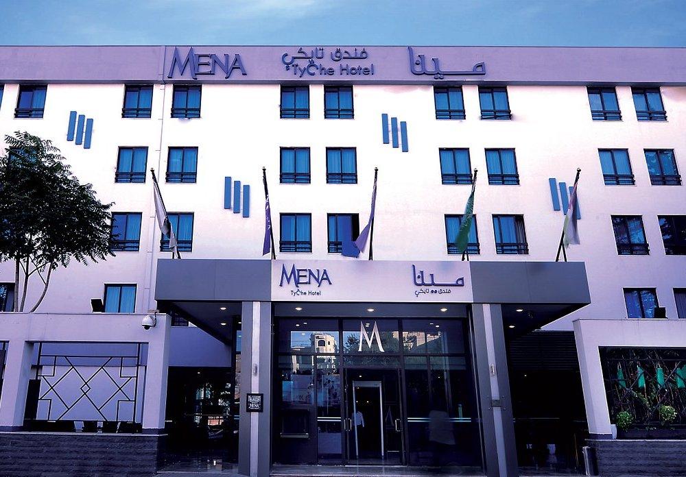 Hotel Mena Tyche - Außenansicht