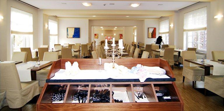 Santé Royale Hotel- & Gesundheitsresort Bad Brambach Frühstücksraum