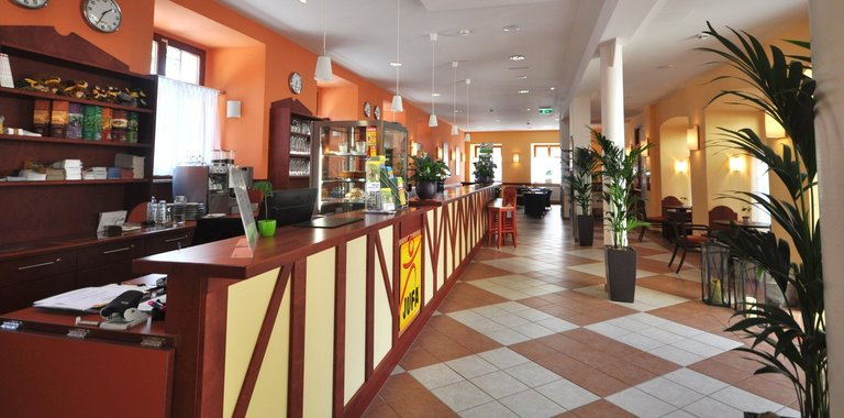 Rezeption JUFA Hotel Meersburg