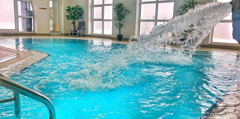 Wellnessbereich Relaxhotel Sachsenbaude