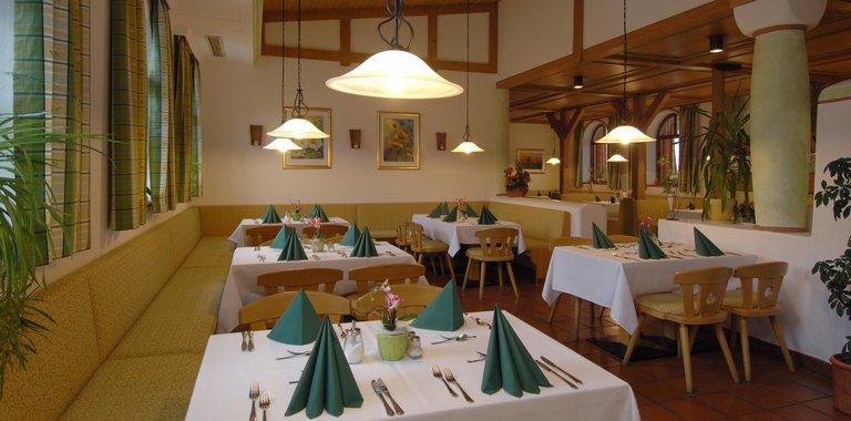 Johannesbad Vitalhotel Jagdhof Restaurant