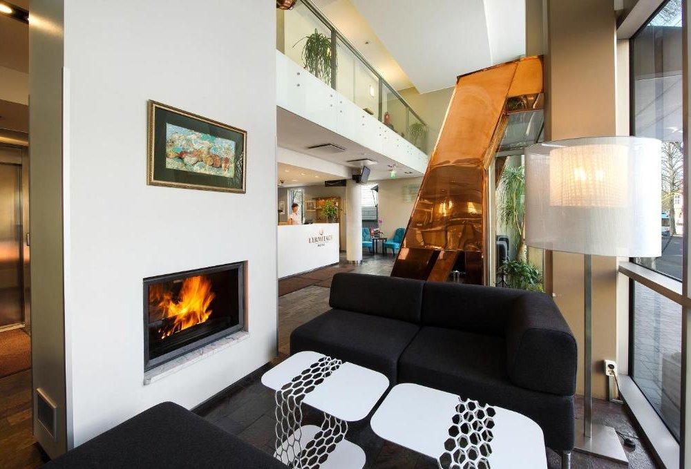 Hotel L'Ermitage - Lobby