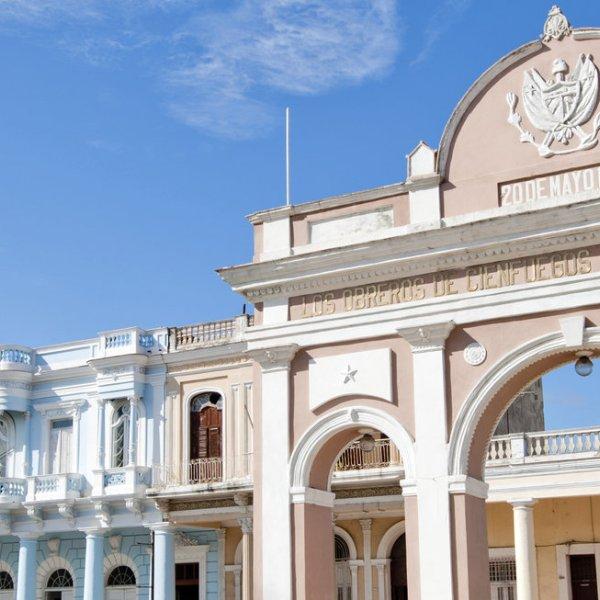 Gebäude in Cienfuegos