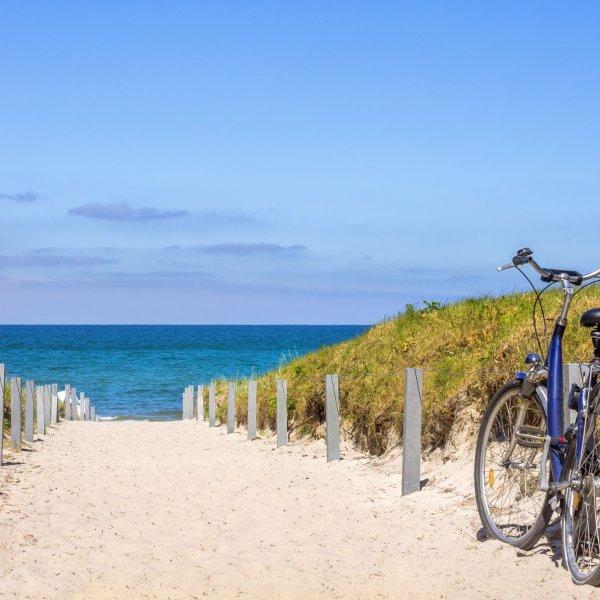 Rad- und Wanderurlaub mit der Familie an der Ostsee