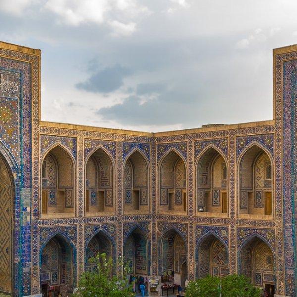 Samarkand Registan Square