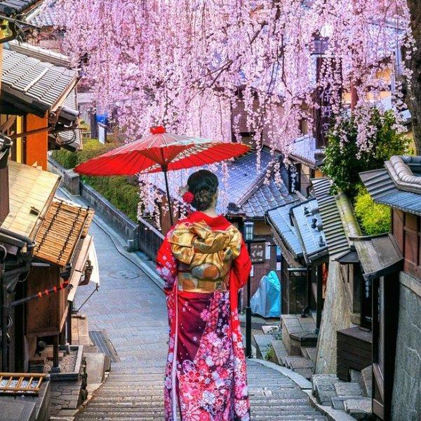 Frauen in Kyoto