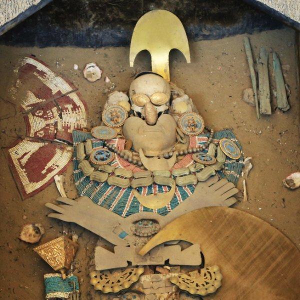 Peru Grab Lord of Sipan