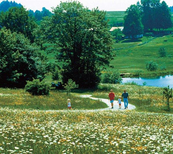 Landschaft bei St. Englmar am Ferienhotel Predigtstuhl Resort