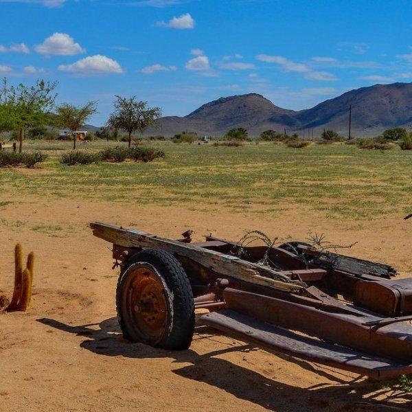 Wüstenort Solitaire