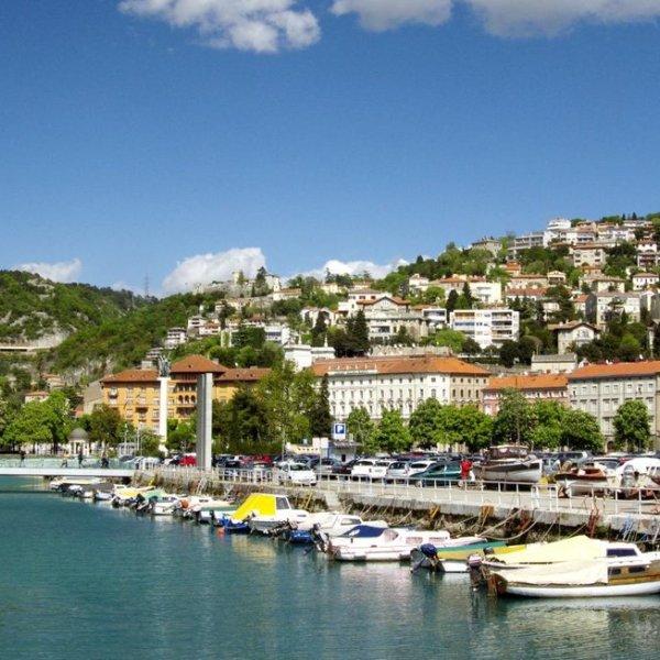 Kroatien Hafen von Rjieka