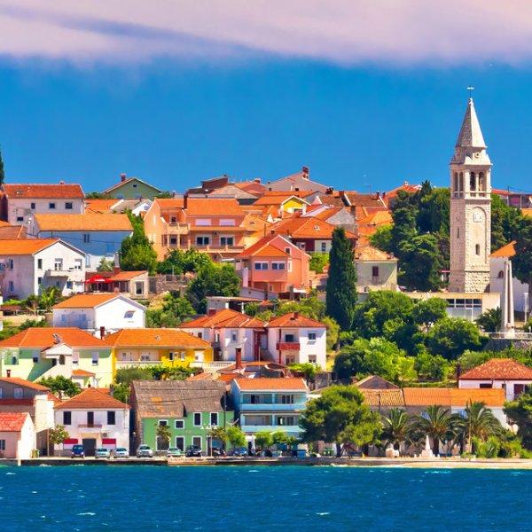 Kroatien Blick auf Zadar