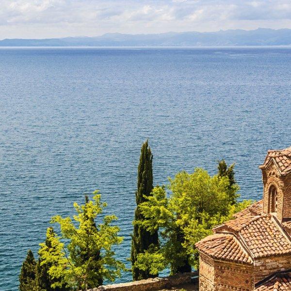 Albanien Ohrid See