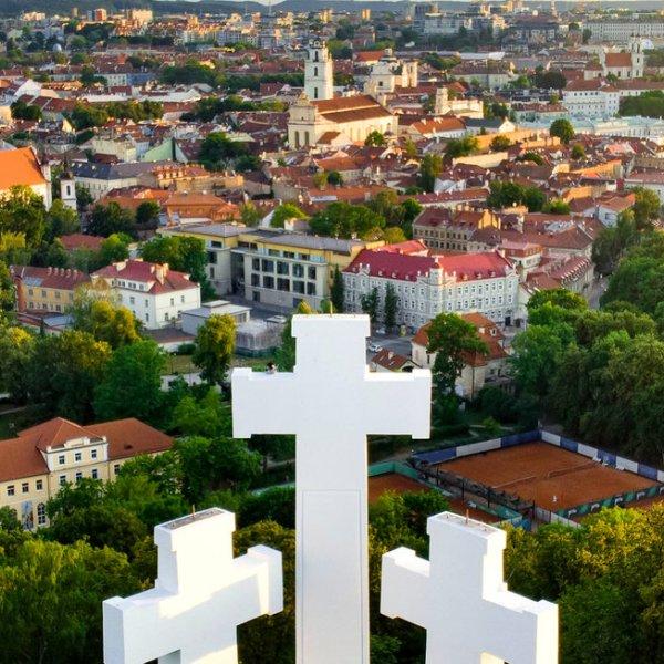 Lettland Vilnius Drei Kreuz Monument
