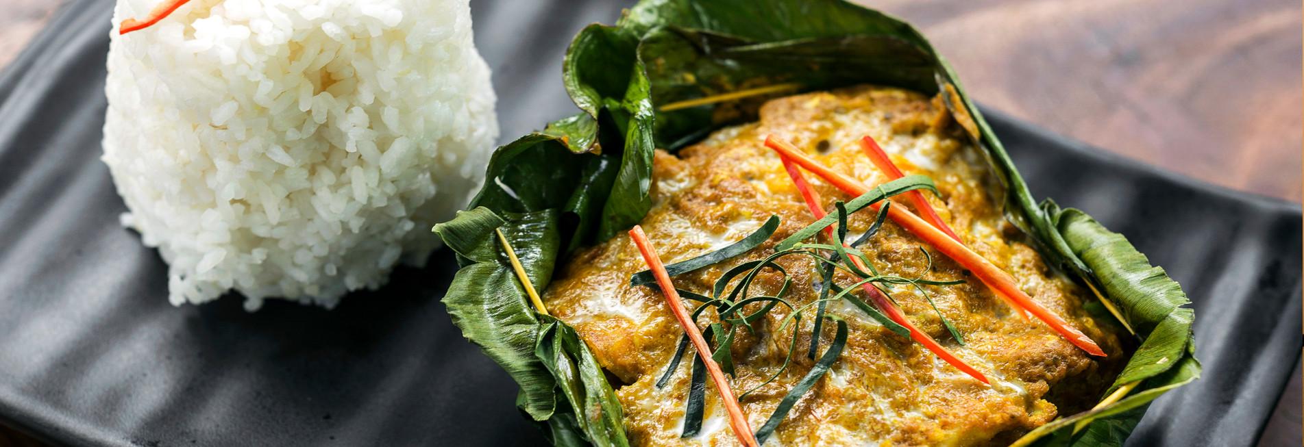 Traditionelles kambodschanisches Essen
