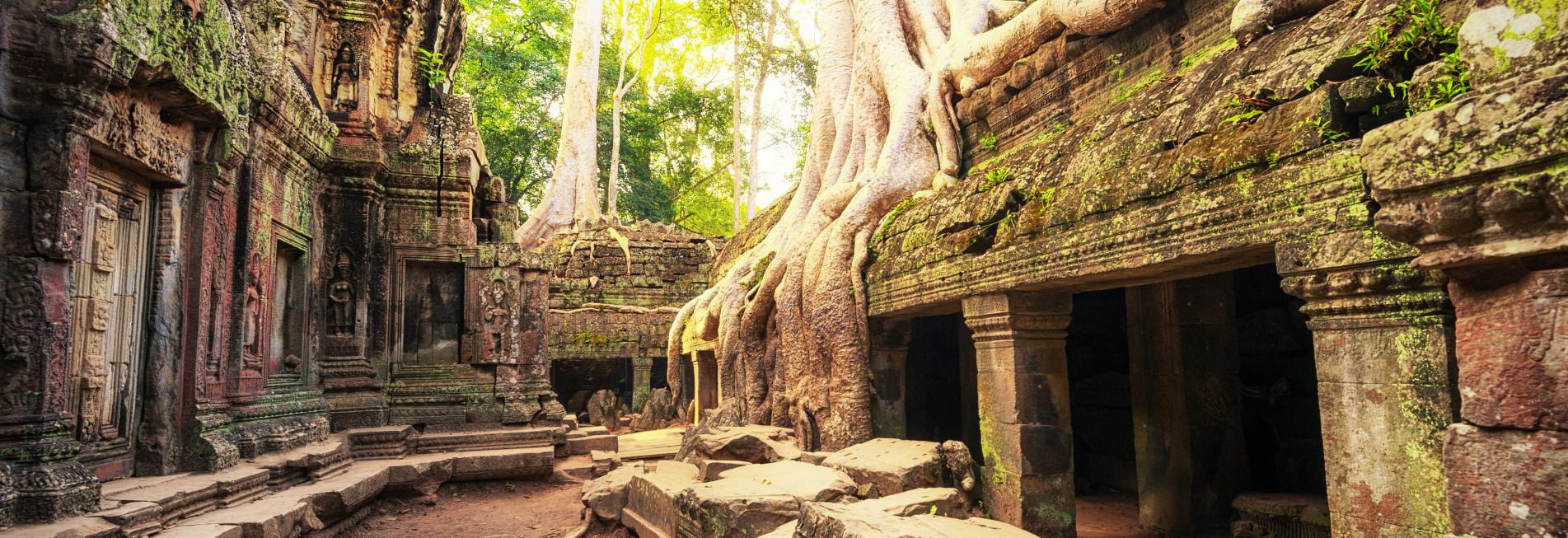 Khemer Tempel in Angkor Wat