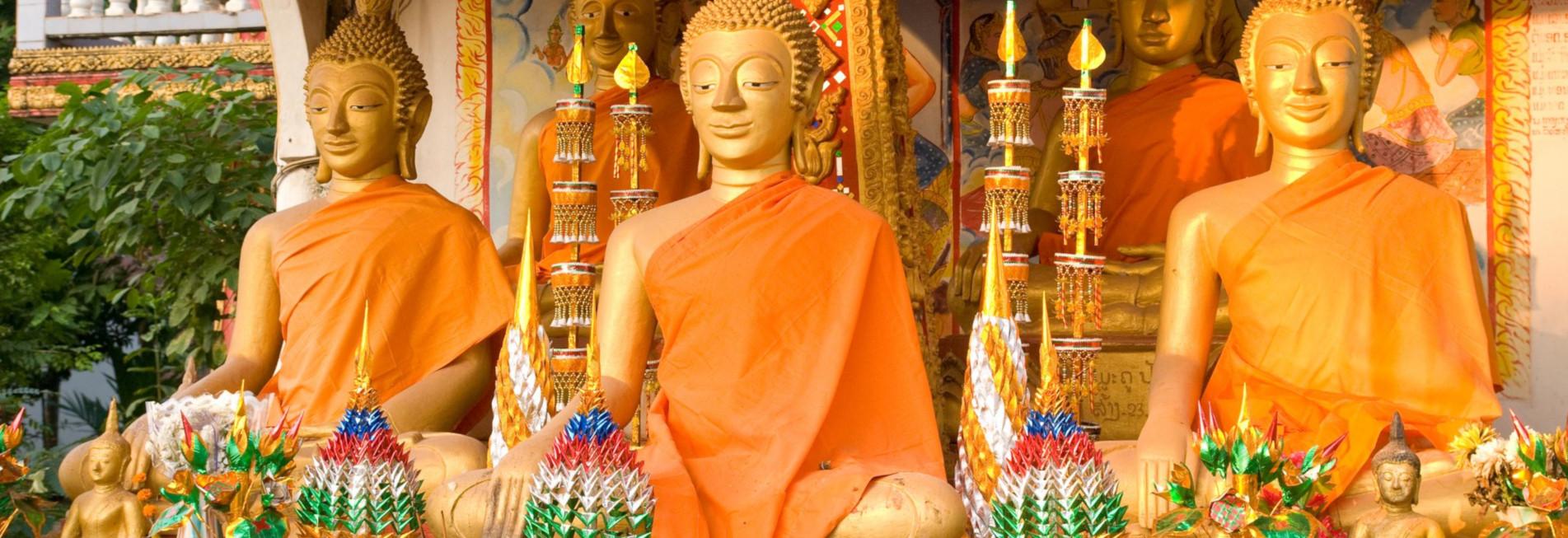 Buddha Wat That Luang in Vientiane