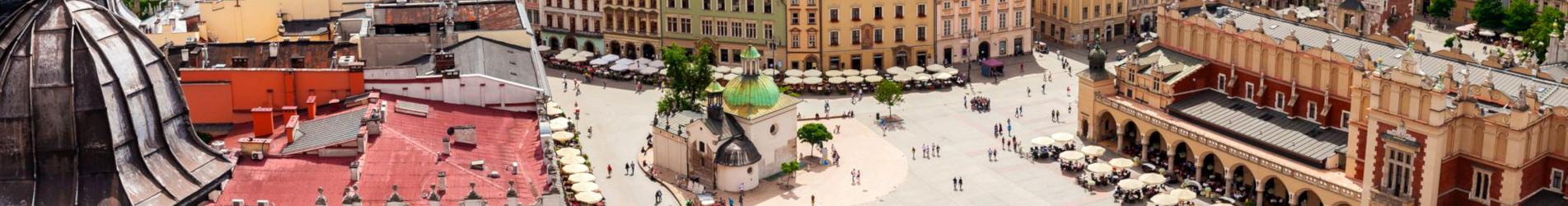 Zentrum von Krakau