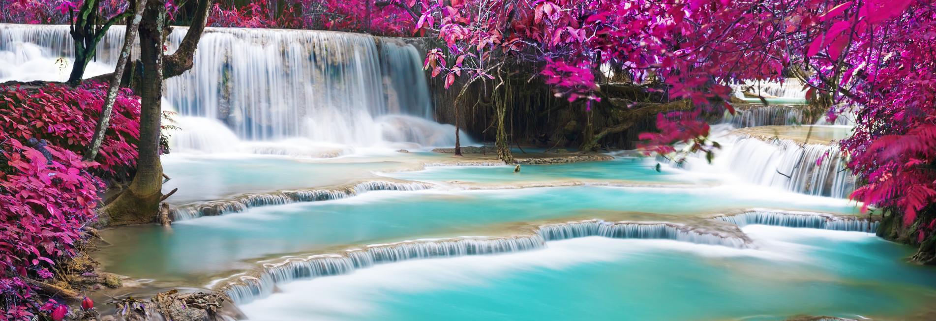 Kuang Si Wasserfall bei Luang Pranbang